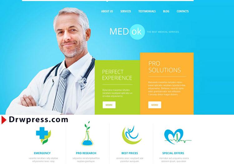 طراحی سایت پزشکی, هزینه طراحی سایت پزشکی, طراحی سایت پزشکان, رویا وردپرس, drwpress, dwp, طراحی سایت, رزرواسیون, نوبت دهی آنلاین, medical site