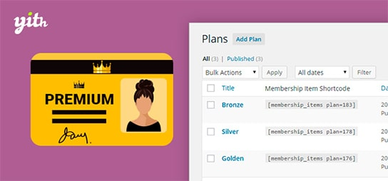 YITH WooCommerce Membership ,افزونه عضویت ویژه ووکامرس, پلاگین عضویت VIP,افزونه عضویت ویژه ووکامرس YITH Membership ,افزونه عضویت ویژه YITH Woocommerce Membership, رویا وردپرس, افزونه ووکامرس